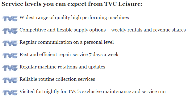 Service Levels You Can Expect From TVC V2