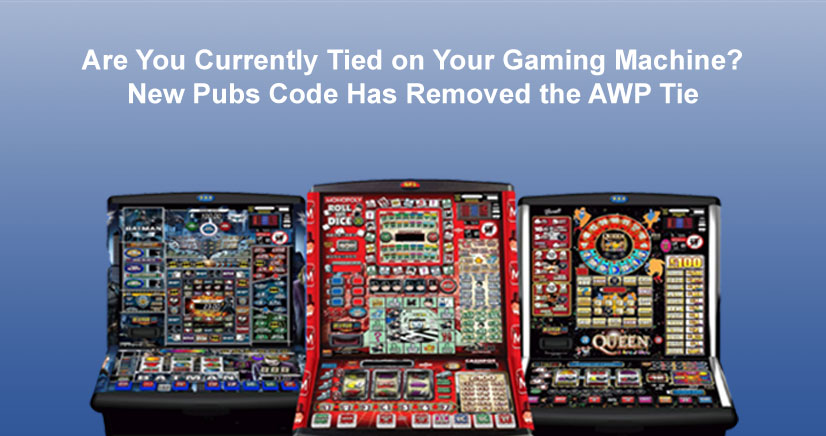 Pubs Code AWP Tie