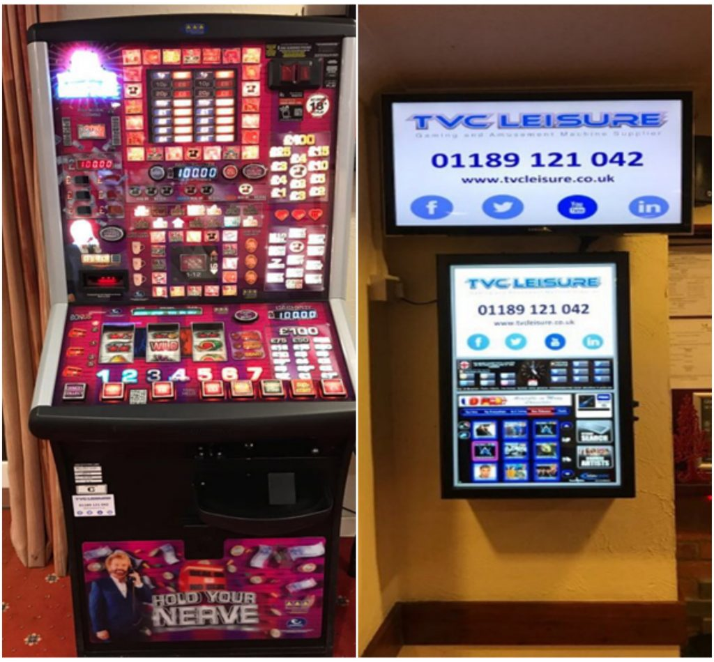Fruit machine install in Bracknell