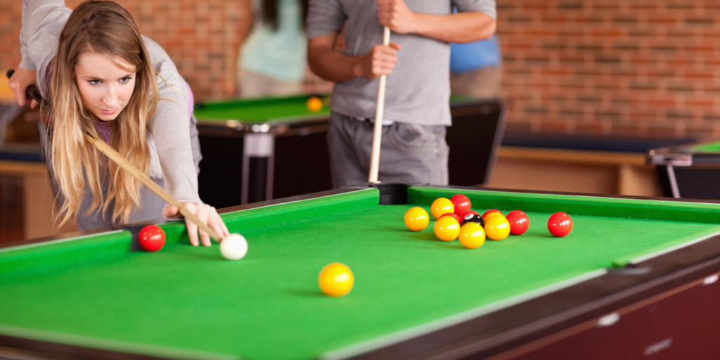 How to choose the best shot in pool