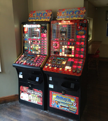Fruit machine hire London