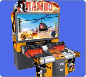 Rambo arcade game rental